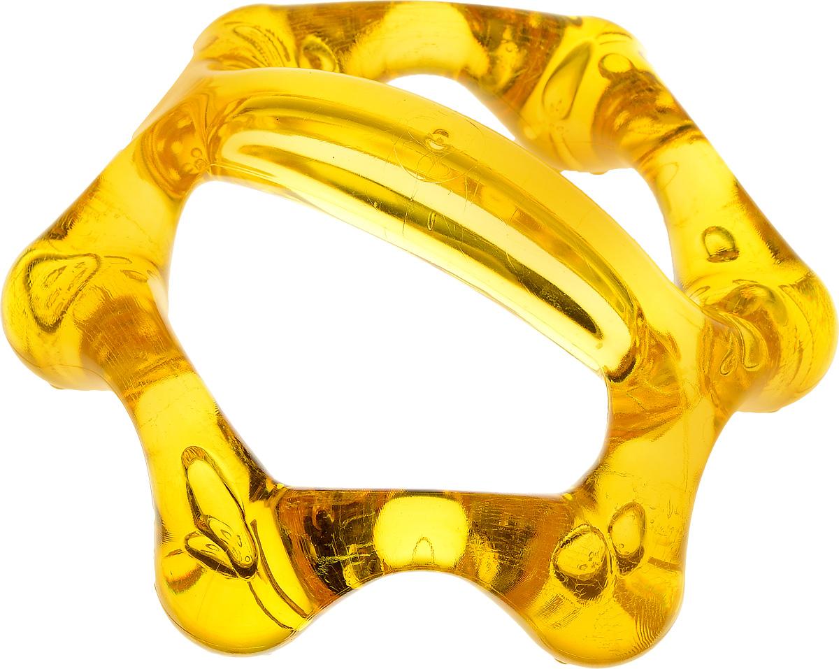 Лапонька-6 Мануальный массажер, цвет: желтый