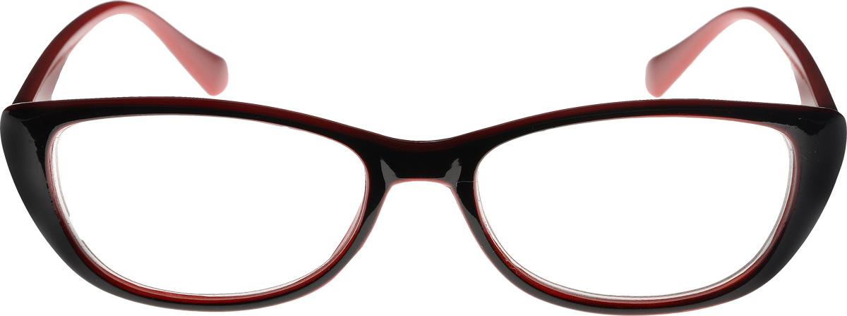 Proffi Home Очки корригирующие (для чтения) 3422 Oscar -1.00 цвет: черный, красный
