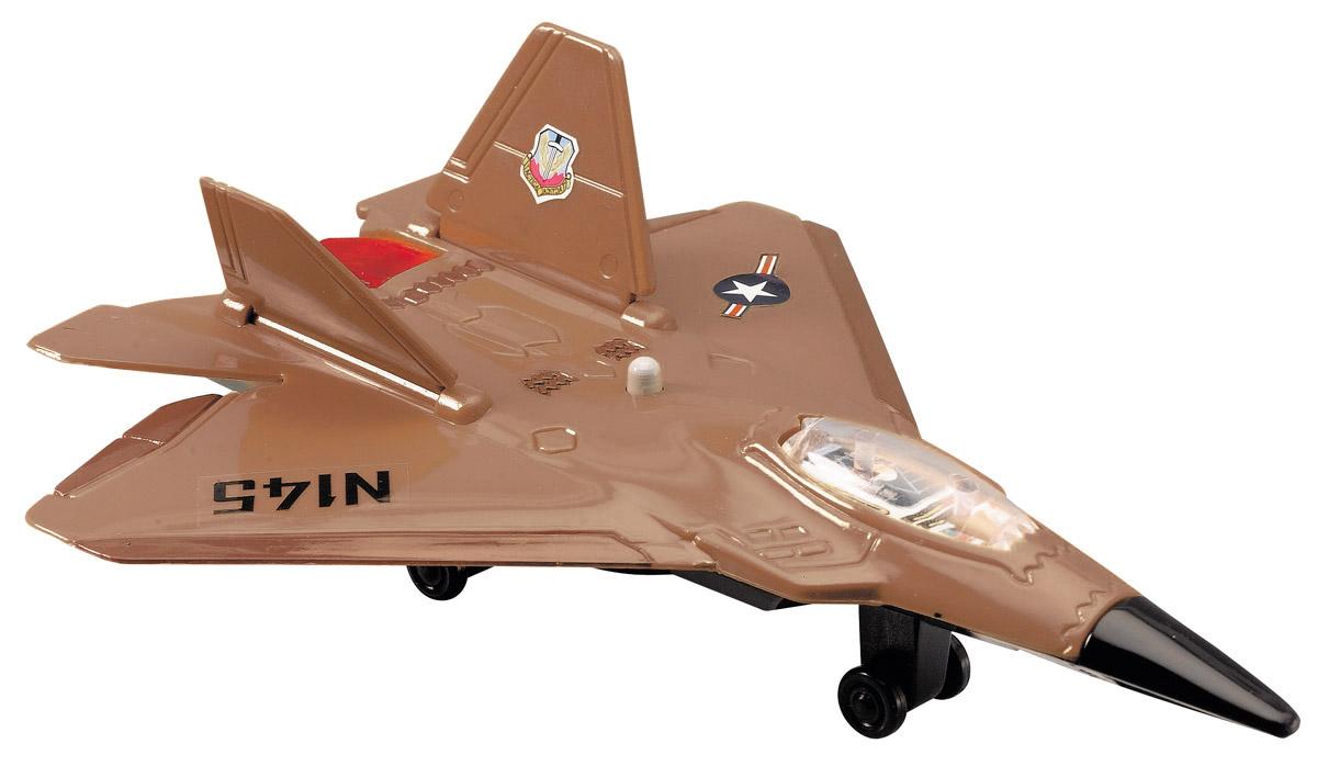Dickie Toys Истребитель Air Machine цвет коричневый
