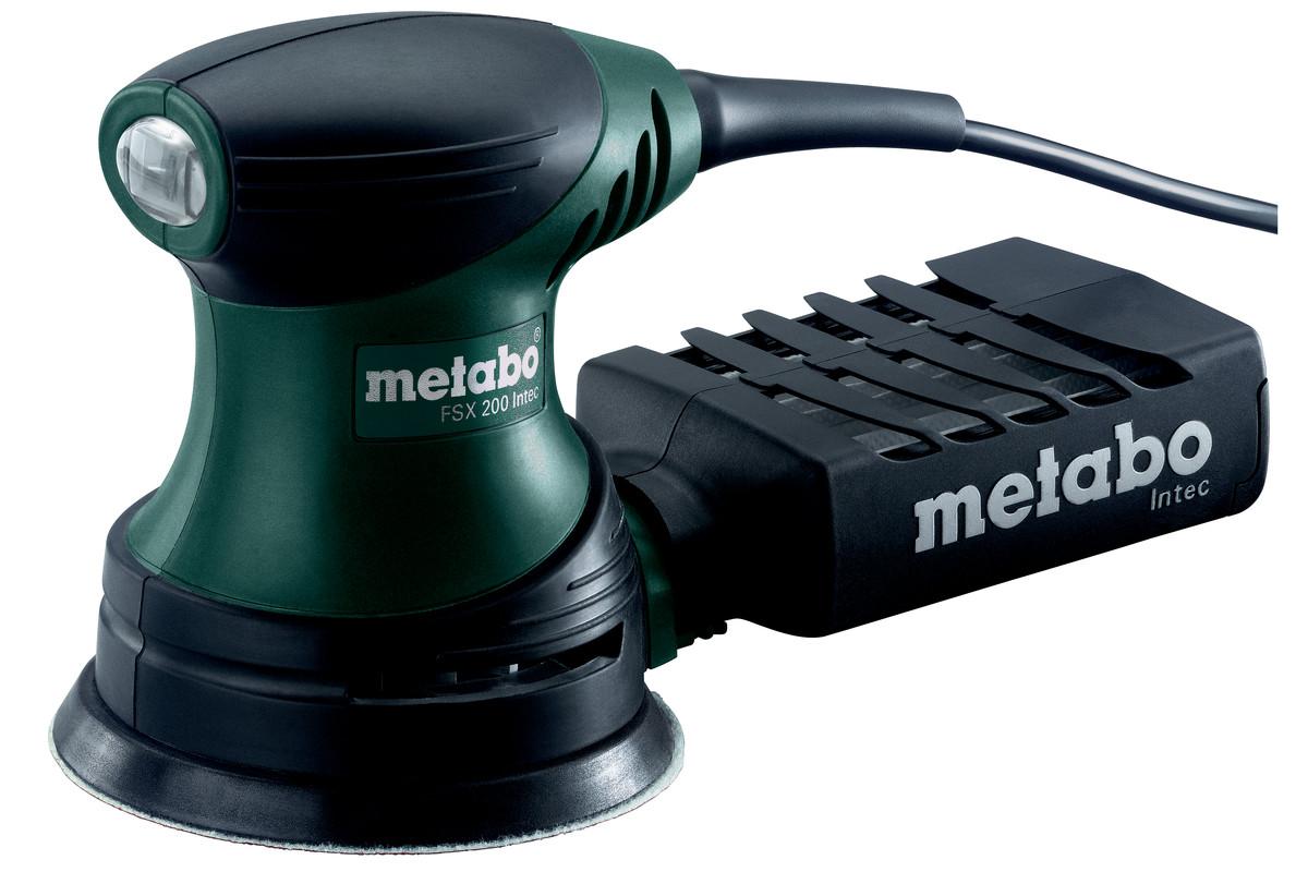 "Наладонная шлифовальная машина Metabo ""FSX 200 Intec"", эксцентриковая 609225500"