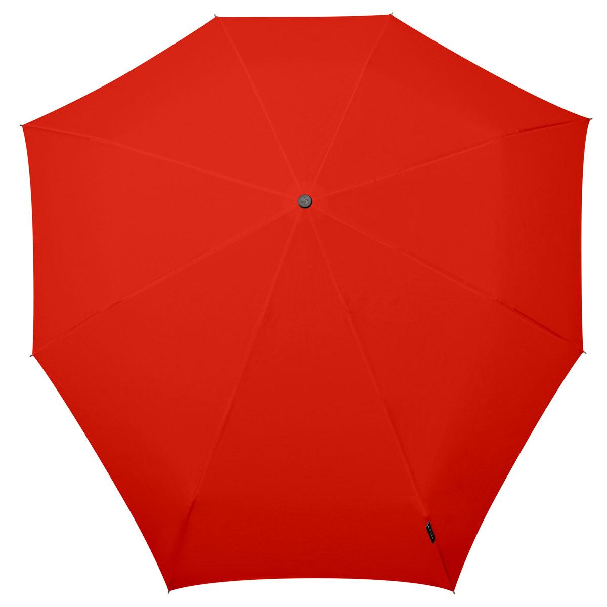 Зонт Senz, цвет: красный. 11110191111019Вместо покупки нескольких дешевых зонтиков, которые легко ломаются, лучше приобрести надежный и качественный зонт от Senz. Инновационные противоштормовые зонты выдерживают любую непогоду. Форма купола продумана так, что вы легко найдете самое удобное положение на ветру – без паники и без борьбы со стихией. Закрывает спину от дождя. Благодаря своей усовершенствованной конструкции, зонт не выворачивается наизнанку даже при сильном ветре. Это улучшенная модель компактного противоштормового зонта Smart. Выдерживает порывы ветра до 60 км/ч. Характеристики: - тип — механический - три сложения - выдерживает порывы ветра до 60 км/ч - УФ-защита 50+ - удобная ручка с петлей - в комплекте чехол - гарантия 2 года Размер купола: 87 х 87 см, длина в сложенном виде - 25,5 см, в раскрытом - 57 см. Весит 290 г.