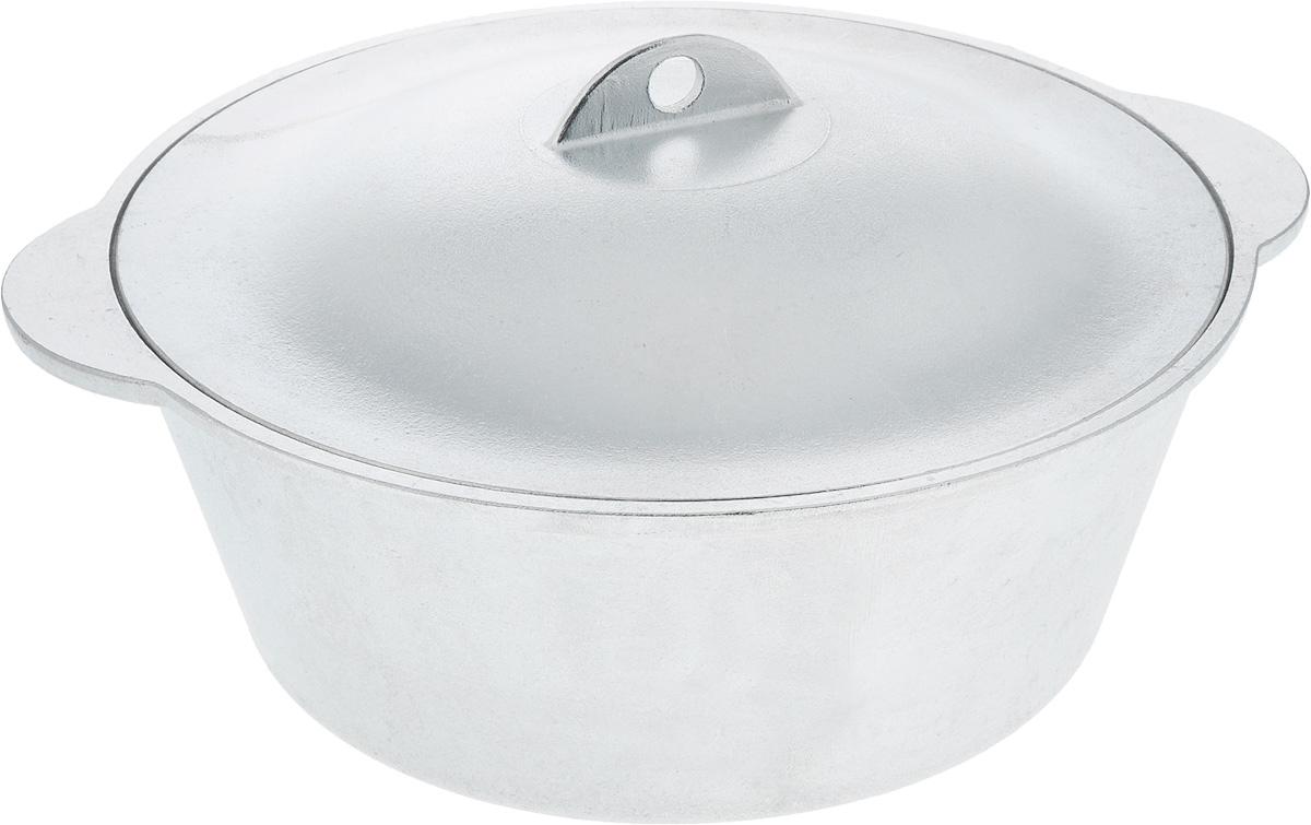 Кастрюля Алита с крышкой, 4 л15100Кастрюля Алита изготовлена из литого алюминия. Гладкая поверхность обеспечивает легкость ухода за посудой. Кастрюля оснащена крышкой из алюминия. Подходит для газовых и электрических плит. Ширина кастрюли (с учетом ручек): 32 см. Высота стенки кастрюли: 10,5 см.