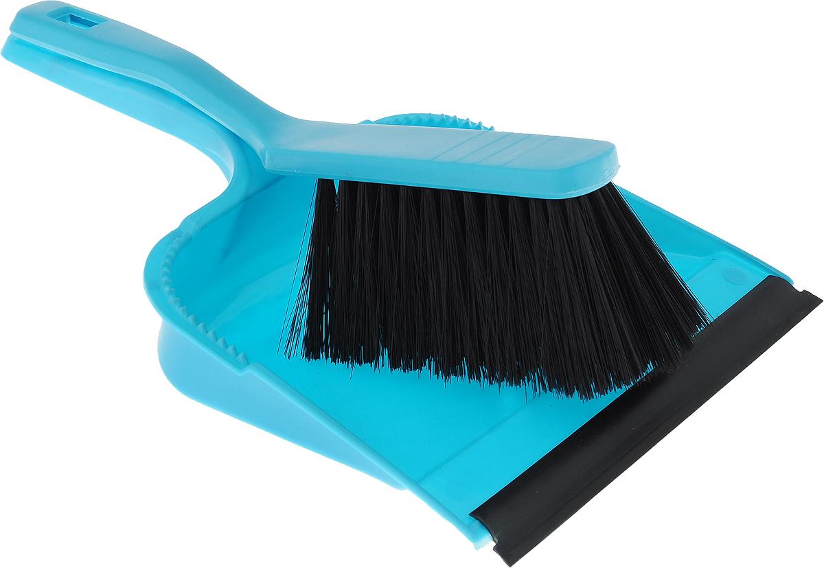 Набор для уборки Svip София, с кромкой, цвет: голубой, 2 предметаSV3028БРЗНабор для уборки Svip София состоит из щетки-сметки и совка, выполненных из полипропилена. Он станет незаменимым помощником в деле удаления пыли и мусора с различных поверхностей. Ворс щетки достаточно длинный, что позволяет собирать даже крупный мусор. Края совка оснащены зубчиками для чистки щетки после ее использования. Совок имеет резиновую кромку, благодаря которой удобнее собирать мусор. Ручка совка позволяет прикреплять его к рукоятке щетки. На рукояти изделий имеется специальное отверстие для подвешивания. Длина щетки-сметки: 28 см. Длина ворса: 6,5 см. Размер рабочей поверхности совка: 21,5 х 19,5 см. Размер совка (с учетом ручки): 33,2 х 21,5 х 6 см.