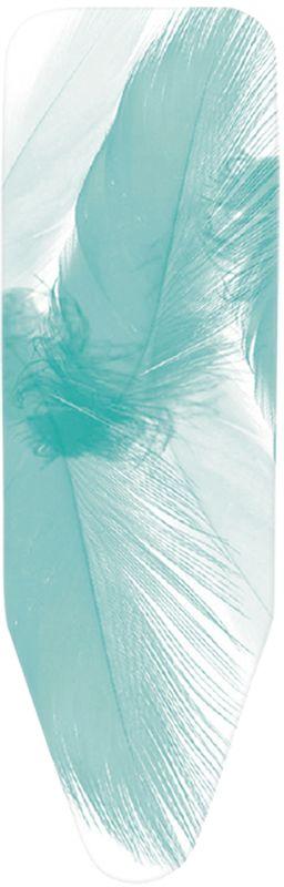 Чехол для гладильной доски Brabantia Перья, со слоями фетра, 124 х 38 см. Размер В318122Характеристики: Материал: текстиль. Размер: 540*280*200мм. Артикул: 318122.