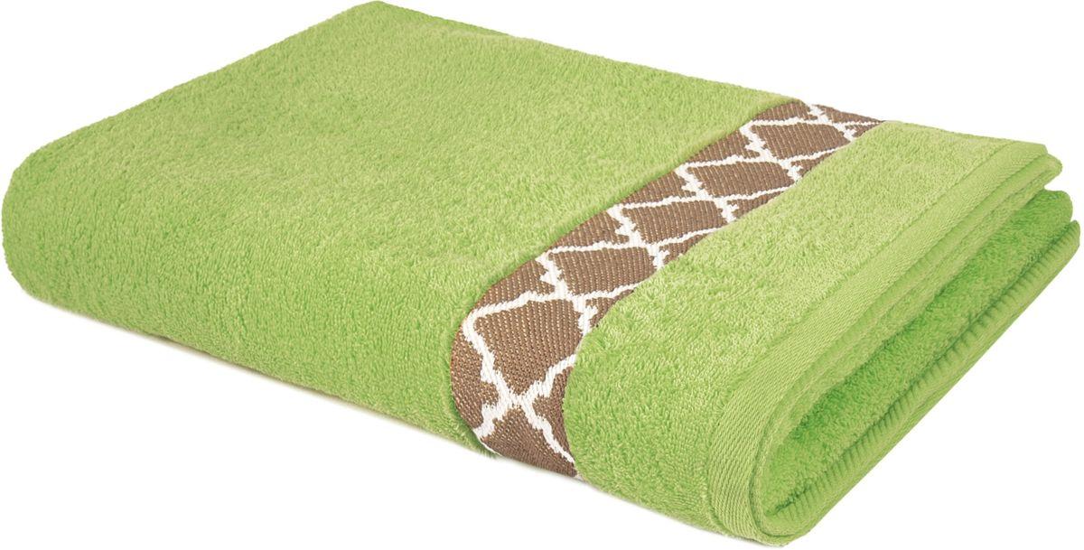 Полотенце махровое Aquarelle Таллин-1, 70 х 140 см, цвет: травяной707728