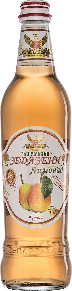 Зедазени Лимонад Груша, 500 мл4860103350121Лимонад Zedazeni изготовлен исключительно из натуральных ароматизаторов. Лимонад, который сделан для тех, кто ценит подлинный вкус свежих фруктов, она подойдет любому семейное торжество или праздник. Углеводы: 12,8 / 100 мл. Питательная ценность: 51 ккал / мл.