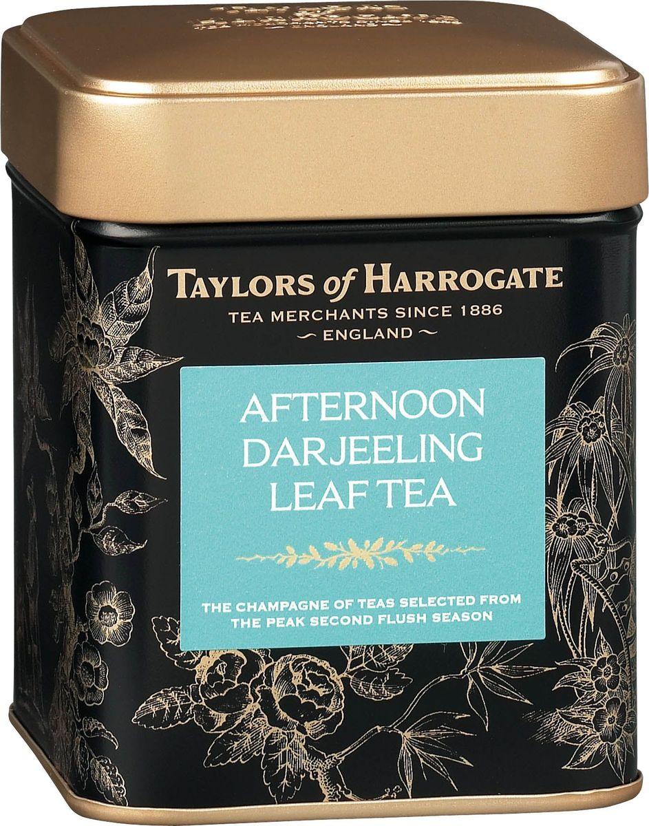 Taylors of Harrogate Дарджинг Полдник чай черный листовой байховый, 125 г292230Смесь изысканных сортов чая для традиционного полдника. Этот элегантный напиток идеально подходит для полдника с кексами и пирожными. Чай собирают в чайных хозяйствах предгорий Гималаев на пике второго сезона - в момент, когда он достигает уровня наивысшего качества. При правильном его заваривании получается светлый напиток с утончённым мускатным, слегка терпким вкусом и цветочным ароматом. Такие свойства обеспечиваются особыми условиями произрастания чая: холодным и влажным климатом, высокогорным расположением плантаций и особенностями почвы. Способ приготовления: для приготовления этого восхитительного напитка засыпьте в хорошо прогретый заварной чайник листья чая «Дарджилинг-Полдник», из расчета 1 ч. л. на человека плюс еще одна на сам чайник, и залейте только что вскипяченной водой. Настаивайте в течение 4-5 минут. Можно добавить молока на Ваш вкус. Состав: чай черный.