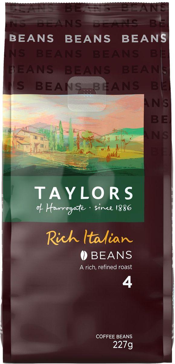 Taylors of Harrogate Богатый Итальянец кофе жареный в зернах ,227 г293609Кофе натуральный жареный в зернах БОГАТЫЙ ИТАЛЬЯНЕЦ (крепость 4) Наденьте Ваш лучший костюм, потому что этот кофе пьют только в одежде класса люкс – специальный стиль обжаривания этих зерен берет свое начало из элегантных кофейных купажей Северной Италии. Для этого кофе мы отбираем бразильские зерна шоколадного цвета и сладковатые зерна из Африки и Центральной Америки, обжаривая их до тех пор, пока они не достигнут максимально насыщенного шоколадного цвета и не приобретут изумительный аромат. Это идеальный «послеобеденный» кофе. Способ приготовления (1 порция): засыпать 1 чайную ложку молотого кофе во френч-пресс, залить 250 мл только что вскипячённой воды (~90 °C), размешать, настоять 3–5 минут, после чего нажать на плунжер. При приготовлении кофе следует учитывать степень помола: средняя - френч-пресс, мелкая – кофеварка с фильтром, тонкая эспрессо – для эспрессо-машины. Состав: кофе жареный в зернах, сорт Арабика