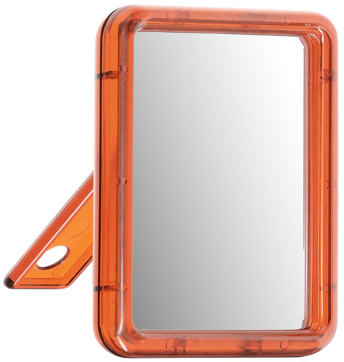 Зеркало настольное Silva, одностороннее, 10 х 13 смSZ 590Настольное косметическое зеркало Silva в пластиковом корпусе идеально подходит для нанесения макияжа и совершения различных косметических процедур. Одностороннее зеркало с регулируемым углом наклона позволит вам установить его так, как это удобно вам. Яркий и стильный дизайн делает зеркало отличным подарком родным и близким, оно будет прекрасно смотреться в любом интерьере.