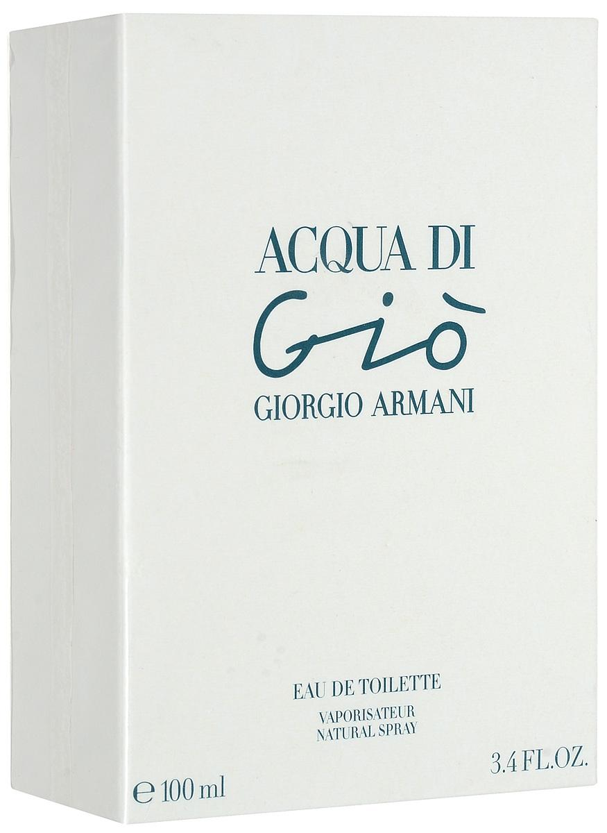 """Giorgio Armani """"Acqua Di Gio"""". Туалетная вода, женская, 100 мл 00620"""
