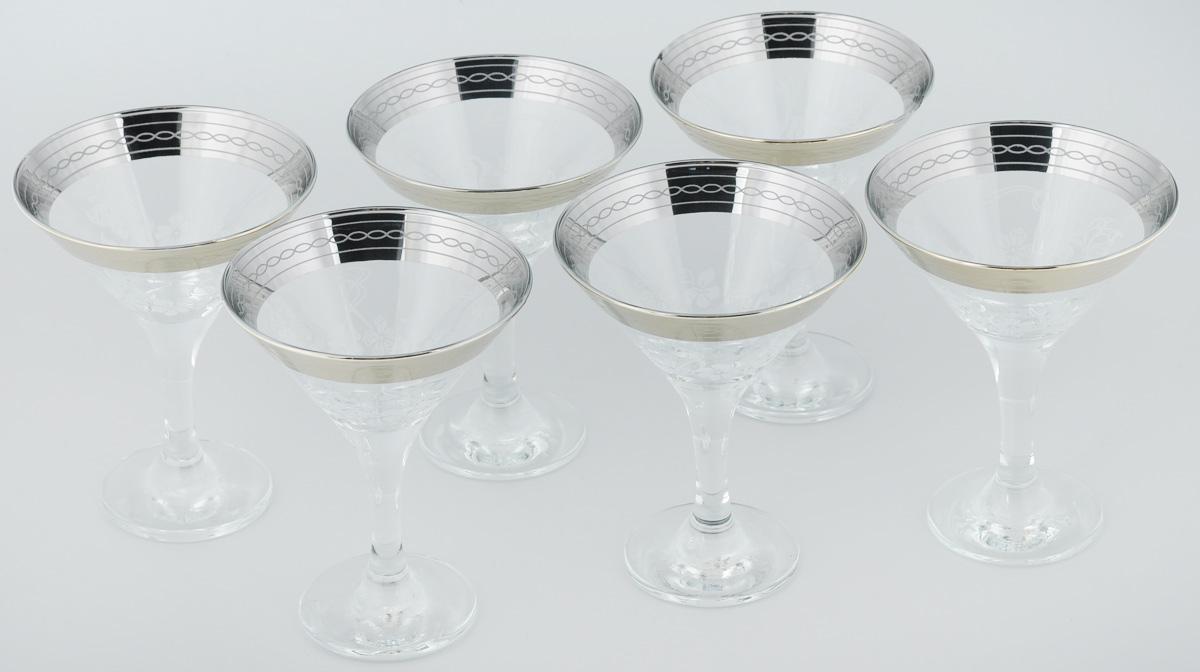 Набор бокалов для мартини Гусь-Хрустальный Батерфляй, 170 мл, 6 шт410/06Набор Гусь-Хрустальный Батерфляй состоит из 6 бокалов, изготовленных из высококачественного стекла. Изделия предназначены для подачи мартини. Такой набор прекрасно дополнит праздничный стол и станет желанным подарком в любом доме. Разрешается мыть в посудомоечной машине. Диаметр бокала (по верхнему краю): 10,5 см. Высота бокала: 13,5 см. Диаметр основания бокала: 6,3 см.