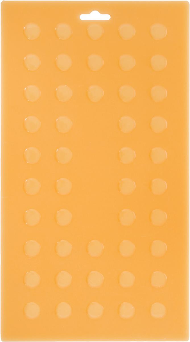 Подставка под горячее Mayer & Boch, силиконовая, цвет: светло-оранжевый, 28 х 15 см4292Подставка под горячее Mayer & Boch изготовлена из силикона и оформлена рельефом в виде кругов. Материал позволяет выдерживать высокие температуры и не скользит по поверхности стола. Каждая хозяйка знает, что подставка под горячее - это незаменимый и очень полезный аксессуар на каждой кухне. Ваш стол будет не только украшен яркой и оригинальной подставкой, но и сбережен от воздействия высоких температур.