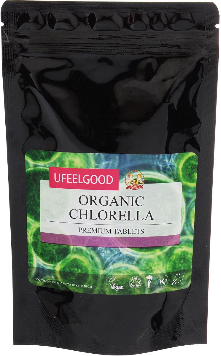 UFEELGOOD Organic Chlorella Premium Tablets органическая хлорелла в таблетках, 100 г