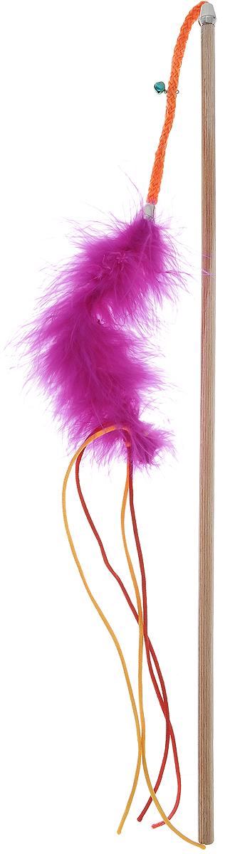 Игрушка для кошек Zoobaloo Бамбук марабу со шнурками, цвет: розовый, длина 110 см135Игрушка для кошек Zoobaloo Бамбук марабу со шнурками выполнена из бамбукового стержня с подвешенным на шнурке меховым хвостиком. Звук колокольчика привлечет внимание вашего питомца. Дразнилка превосходно развивает охотничьи инстинкты вашей кошки, а также развивает моторику передних лап и когтей. Такая игрушка порадует вашего любимца, а вам доставит массу приятных эмоций, ведь наблюдать за игрой всегда интересно и приятно. Длина стержня: 48 см. Общая длина игрушки: 110 см. УВАЖАЕМЫЕ КЛИЕНТЫ! Обращаем ваше внимание на возможные изменения в цветовом дизайне, связанные с ассортиментом продукции. Поставка осуществляется в зависимости от наличия на складе.