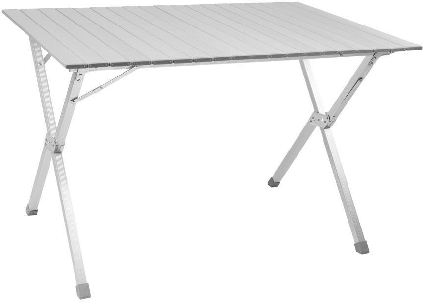 Стол складной Trek Planet Dinner 110, кемпинговый, 110x70x70 см70668Складной стол DINNER 110 отличный выбор для кемпинга. Столешница из наборного алюминия компактно скручивается в рулон. Быстрая, простая сборка. В сложенном виде не занимает много места. Комплектуется чехлом с лямкой для переноски и хранения - Столешница из наборного алюминия - Компактно скручивается в рулон - Складывается в футляр из прочного материала с лямкой для переноски Характеристики: Материал: Столешница: наборный алюминий с матовым покрытием Рама: 25 мм алюминий с матовым покрытием Размер в разложенном виде: 110x70x70 см Размер в сложенном виде:20х13х110см Вес: 4,9 кг Нагрузка: 30 кг Производство: Китай Артикул: 70668