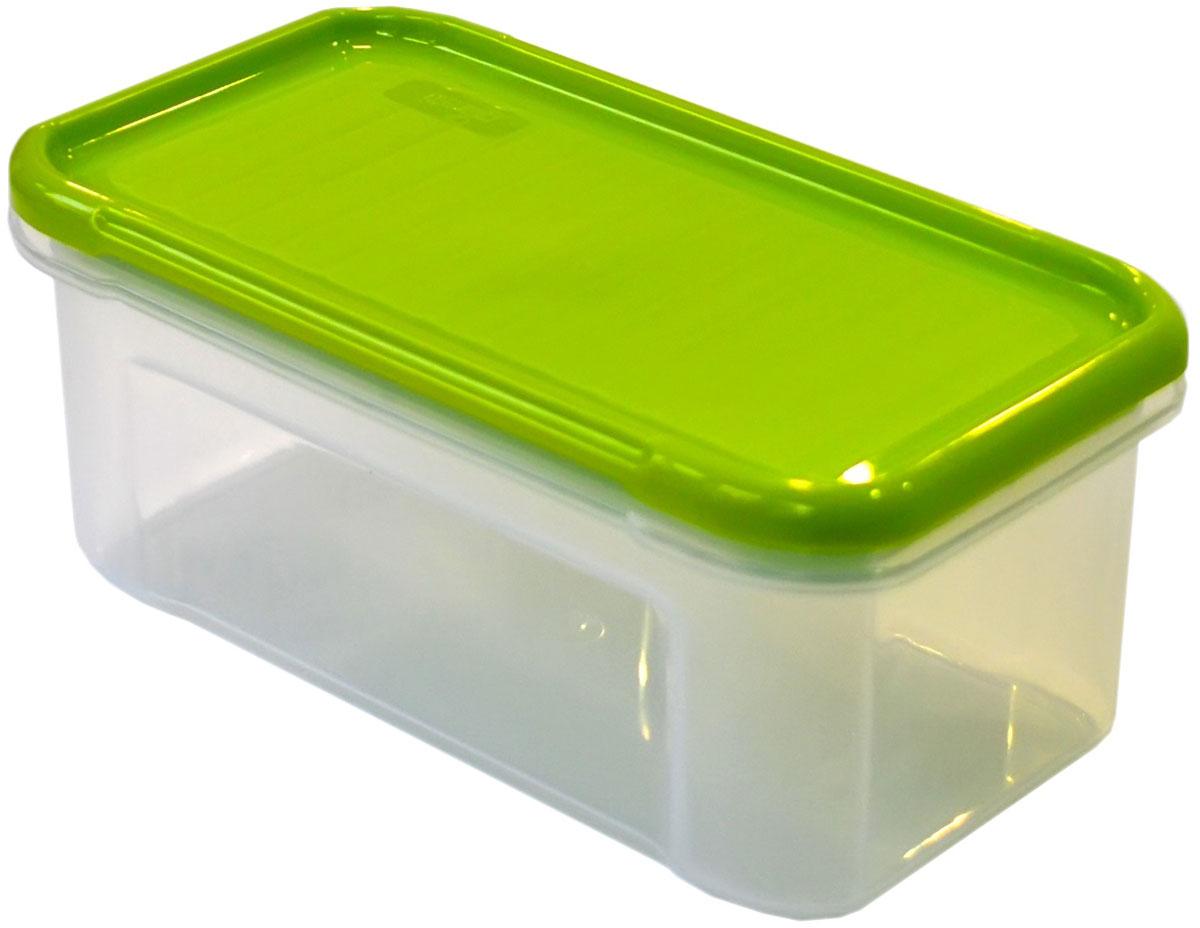 Банка для сыпучих продуктов Giaretti Krupa, цвет: оливковый, прозрачный, 0,5 лGR2230ОЛБанки для сыпучих продуктов предназначены для хранения круп, сахара, макаронных изделий, сладостей и т.п., в том числе для продуктов с ярким ароматом (специи и пр.). Строгая прямоугольная форма банок поможет Вам организовать пространство максимально комфортно, не теряя полезную площадь. При этом банки устанавливаются одна на другую, что способствует экономии пространства в Вашем шкафу. Плотная крышка не пропускает запахи, и они не смешиваются в Вашем шкафу. Благодаря разнообразным отверстиям в дозаторе, Вам будет удобно насыпать как мелкие, так и крупные сыпучие продукты, что сделает процесс приготовления пищи проще.