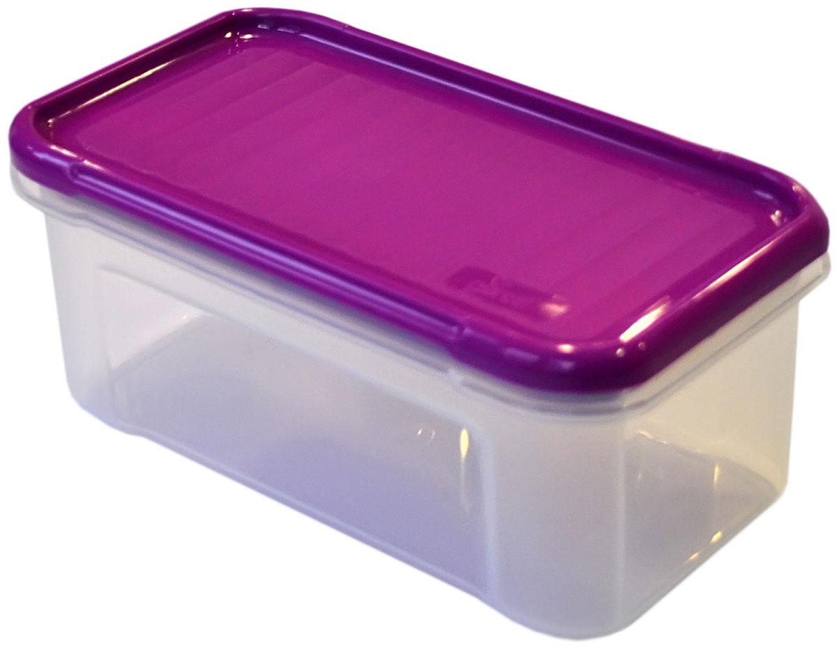 Банка для сыпучих продуктов Giaretti Krupa, цвет: черничный, прозрачный, 0,5 лGR2230ЧРНБанки для сыпучих продуктов предназначены для хранения круп, сахара, макаронных изделий, сладостей и т.п., в том числе для продуктов с ярким ароматом (специи и пр.). Строгая прямоугольная форма банок поможет Вам организовать пространство максимально комфортно, не теряя полезную площадь. При этом банки устанавливаются одна на другую, что способствует экономии пространства в Вашем шкафу. Плотная крышка не пропускает запахи, и они не смешиваются в Вашем шкафу. Благодаря разнообразным отверстиям в дозаторе, Вам будет удобно насыпать как мелкие, так и крупные сыпучие продукты, что сделает процесс приготовления пищи проще.