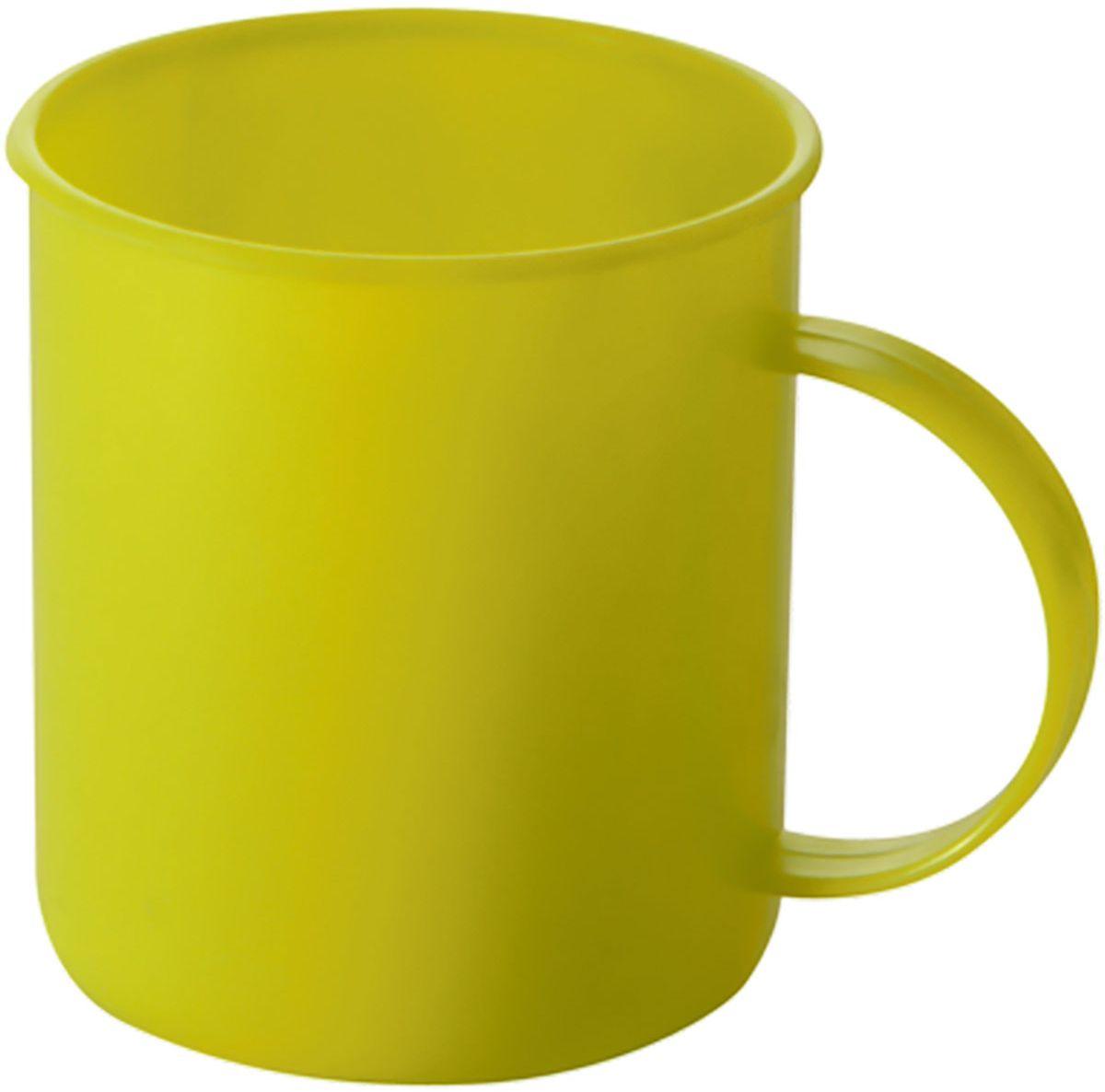 Кружка Plastic Centre Счастье, цвет: желтый, 0,3 лПЦ1431ЛМННаша кружка прекрасно подойдет для дачи, пикника или поездки в поезде. Легкую кружку удобно взять с собой на природу. Яркие цвета и привлекательный дизайн создадут уютную атмосферу и дополнят интерьер дачи. Прочный пластик подходит для многократного использования. Объем 0,3 л.