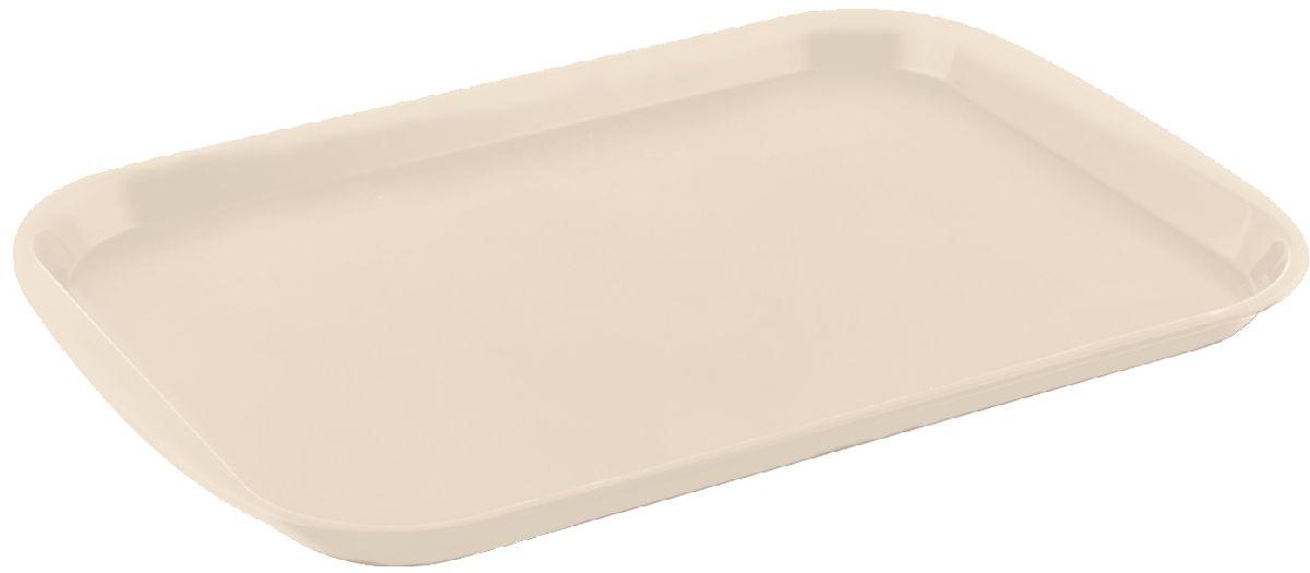 Поднос Plastic Centre Титан, цвет: слоновая кость, 43,5 х 30,5 смПЦ1442СЛКПоднос универсальный большой для переноски посуды. Прочный материал обеспечивает долговечность изделия. Рельефная поверхность предотвращает скольжение посуды на подносе.