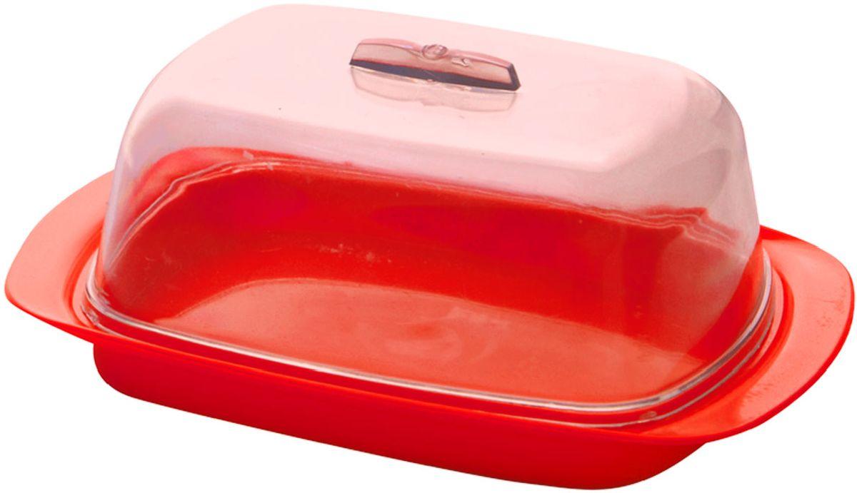 Масленка Plastic Centre, цвет: красный, 17 х 7 х 11,5 смПЦ1450КРУниверсальная масленка для хранения масла. Лаконичный дизайн и яркая цветовая гамма прекрасно подойдут как для хранения масла в холодильнике, так и для подачи на стол.