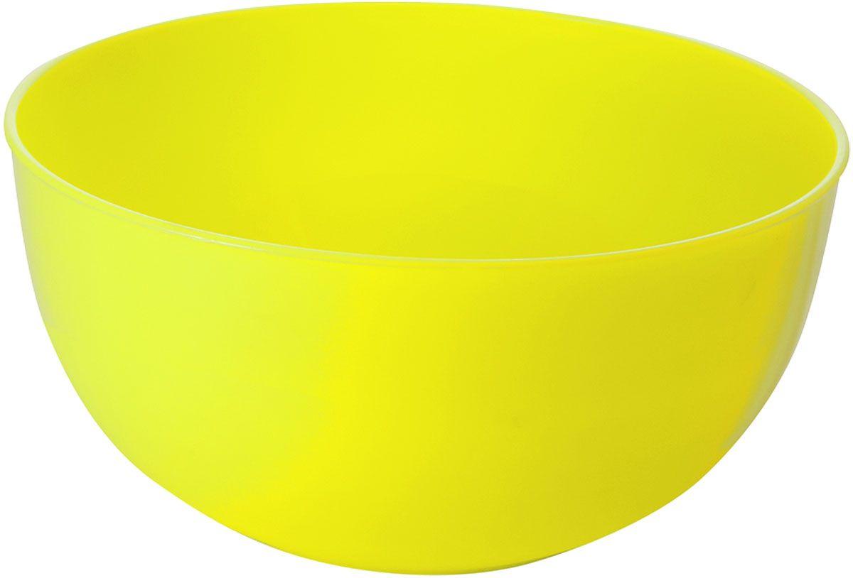 Салатник Plastic Centre Galaxy, цвет: желтый, 0,55 лПЦ1851ЛМННаш многофункциональный салатник прекрасно подходит как для приготовления, так и для подачи различных блюд на стол. Лаконичный дизайн впишется в любую обстановку кухни.