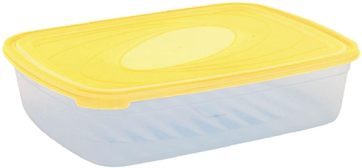 Емкость для СВЧ Plastic Centre Galaxy, цвет: желтый, прозрачный, 4,75 лПЦ2224ЛМНМногофункциональная емкость для хранения различных продуктов, разогрева пищи, замораживания ягод и овощей в морозильной камере и т.п. При хранении продуктов емкости можно ставить одну на другую, сохраняя полезную площадь холодильника или морозильной камеры. Широкий ассортимент цветов удовлетворит любой вкус и потребности.