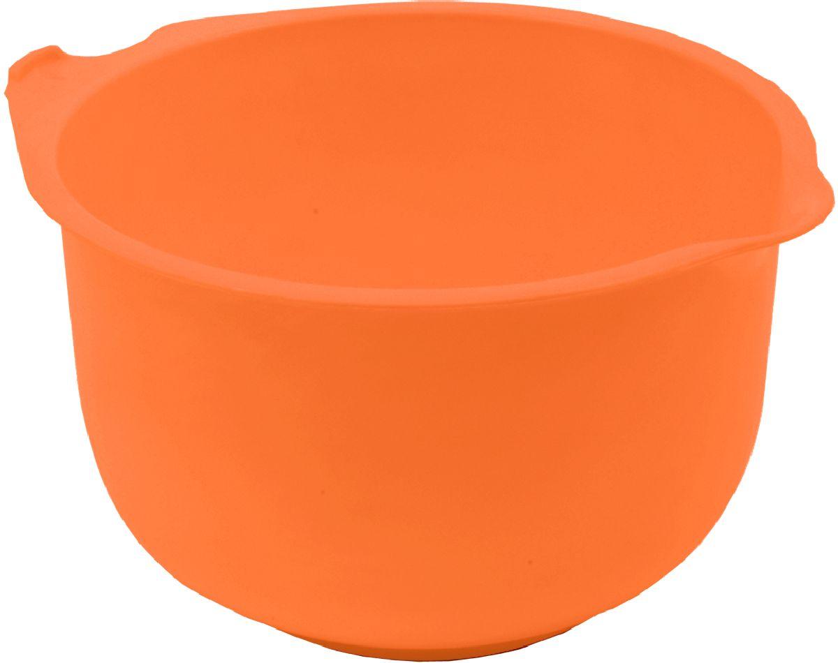 """Миска мерная """"Plastic Centre"""", цвет: оранжевый, 2 л"""