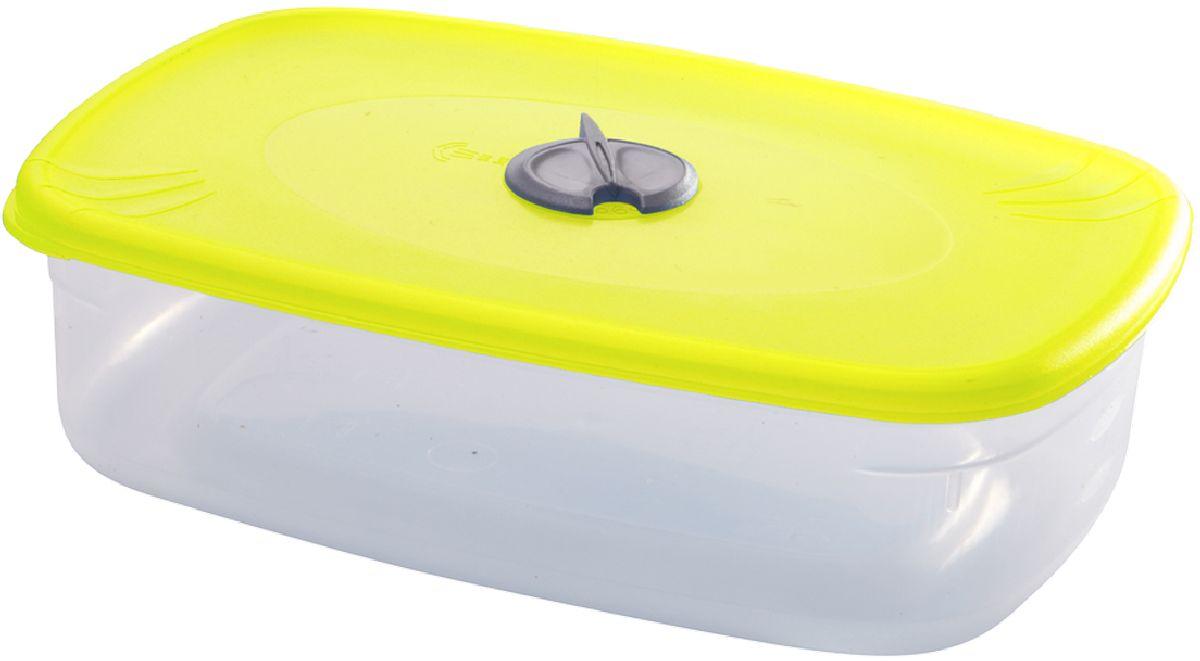 Емкость для СВЧ Plastic Centre, с паровыпускным клапаном, цвет: желтый, прозрачный, 1,6 лПЦ2329ЛМНМногофункциональная емкость для хранения различных продуктов, разогрева пищи, замораживания ягод и овощей в морозильной камере и т.п. При хранении продуктов емкости можно ставить одну на другую, сохраняя полезную площадь холодильника или морозильной камеры. Широкий ассортимент цветов удовлетворит любой вкус и потребности.