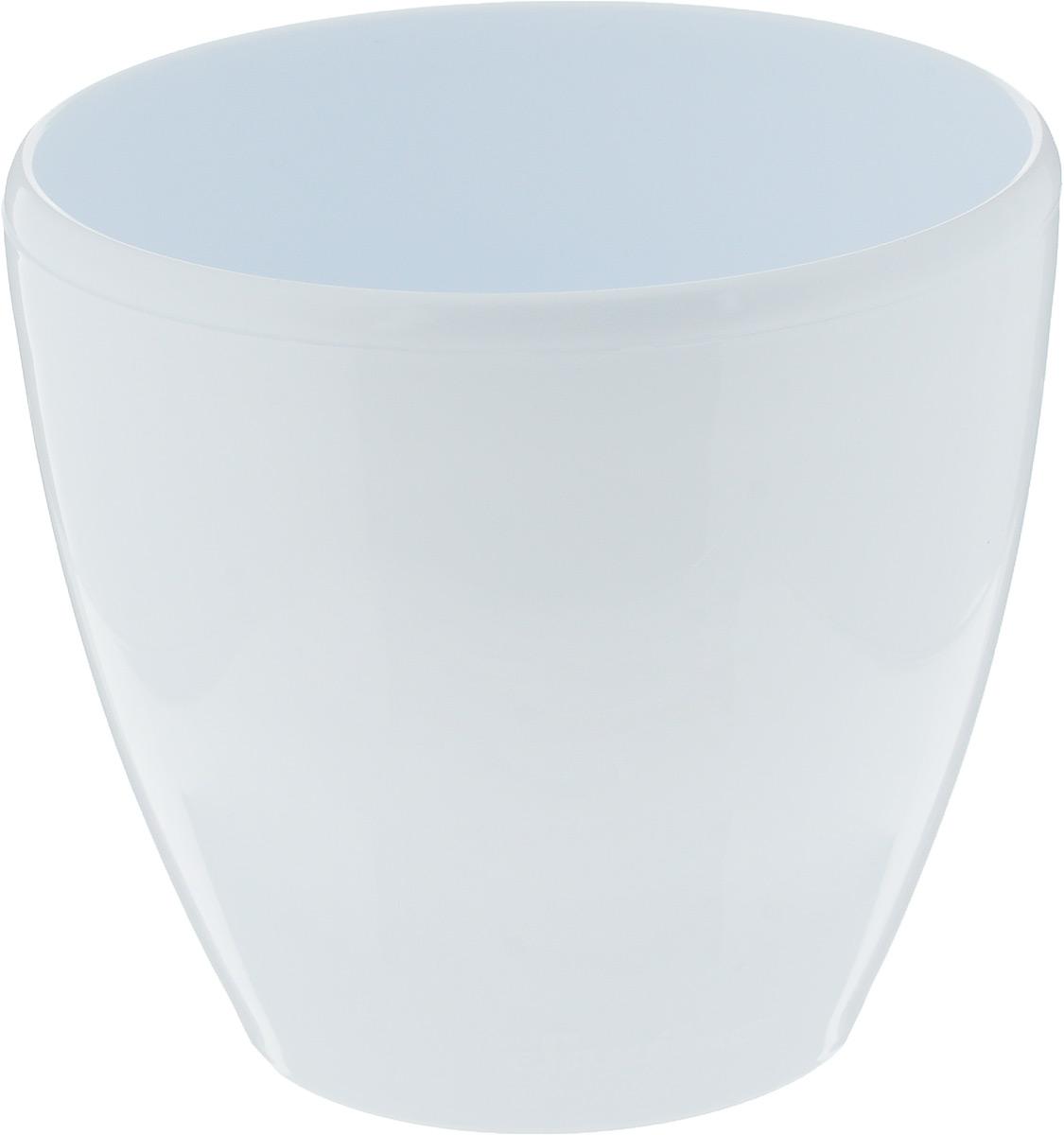 Горшок цветочный Santino Deco Twin, с системой автополива, цвет: белый, 1,5 лДЕК 1,5 БЕЛГоршок цветочный Santino Deco Twin изготовлен из прочного пластика. Изделие предназначено для выращивания цветов и других растений в домашних условиях. Горшок снабжен системой автополива, которая гарантирует здоровье ваших цветов. Автополив значительно экономит время, так как не нужно изо дня в день поливать цветы. Кроме того, цветы всегда будут обеспечены влагой, если вы забыли их полить. Благодаря тому, что вода не застаивается, корни растут здоровыми. Такой горшок порадует вас изысканным дизайном и функциональностью, а также оригинально украсит интерьер помещения. Диаметр горшка (по верхнему краю): 14 см. Высота горшка: 12,5 см. Объем горшка: 1,5 л.