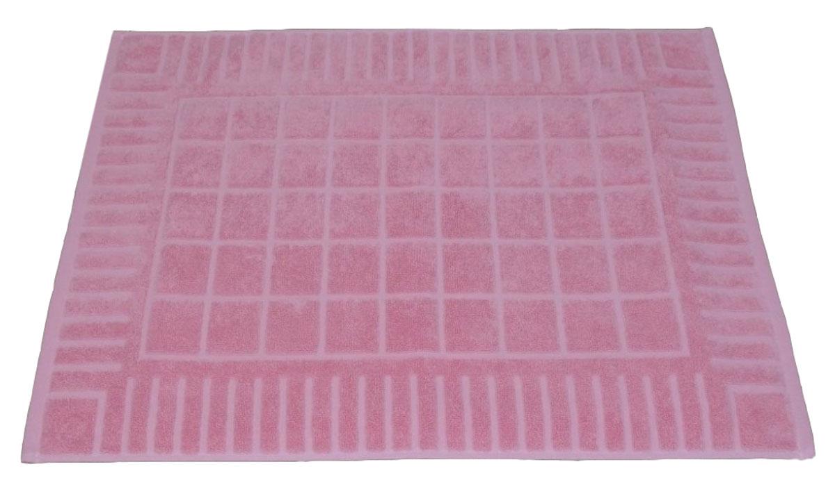 Коврик для ванной Toalla, цвет: розовый, 50 x 70 см9231112Машинная стирка при 40 градусах. Перед использованием рекомендуется постирать.