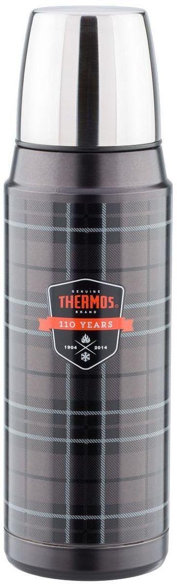 Термос Thermos, цвет: фиолетовый, 0,48 л. H2000A6PF107039Термос из нержавеющей стали для горячих и холодных жидкостей. Пробка позволяет выливать жидкость без полного её отворачивания. Благодаря отличной изоляции корпус не нагревается при использовании горячих жидкостей и не запотевает при использовании холодных.