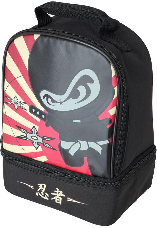 Термосумка детская Thermos Ninja Dual , цвет: черный, 5 л474773Сумка для перевозки и хранения обеда Вашего ребенка.
