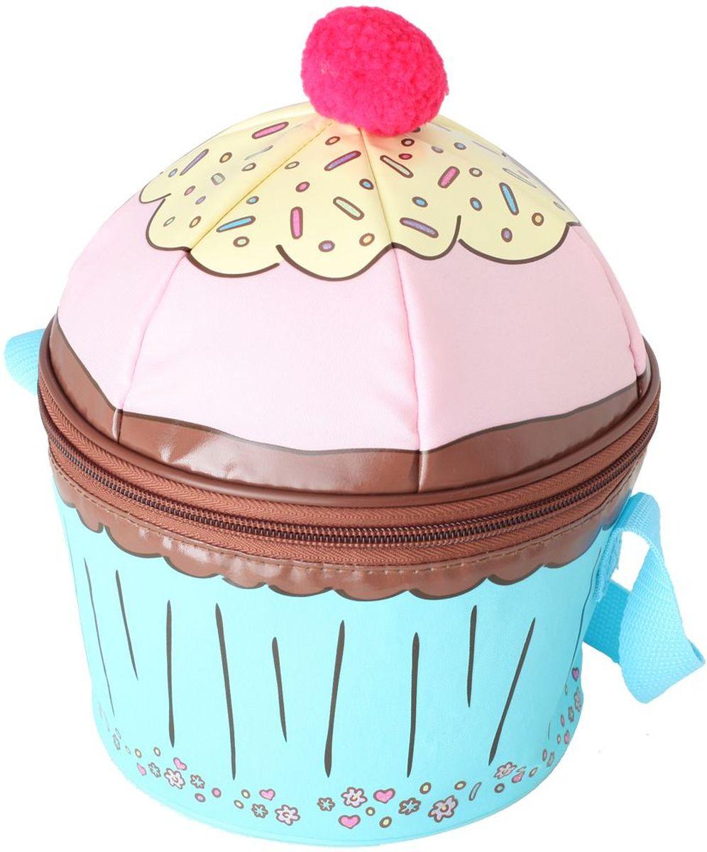 """Термосумка детская Thermos """"Cupcakes Novelty"""", цвет: голубой, розовый, 5 л 475268"""