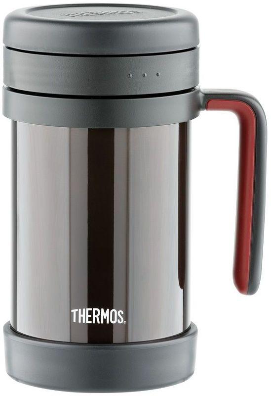 Термос Thermos, цвет: черный, 0,5 л. TCMF-501923622Одной из самых незаурядных и отличительных моделей является термос для заваривания. Предназначен для индивидуального использования. Удобство достигается за счет съемного жесткого ситечка , при этом термос абсолютно герметичен. В таком термосе Вы можете заваривать любимые настои и чаи совершенно не испытывая трудностей при процеживании.