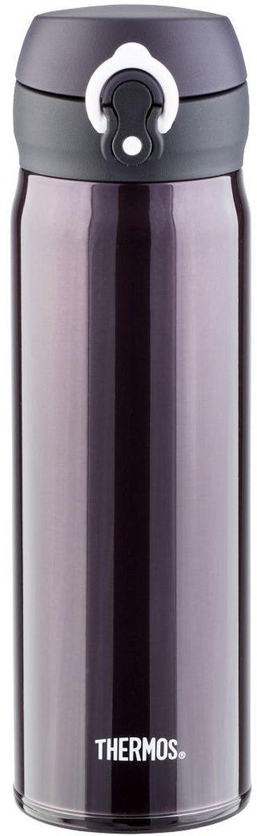 Термос Thermos, цвет: черный матовый, 0.5 л. JNL-502935120Это серия суперлегких и супертонких (наименьший диаметр) термосов, созданная по последним разработкам специалистов компании Thermos. При объеме 500 ml, термос весит всего лишь 210 г.