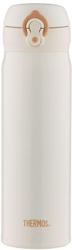 Термос Thermos, цвет: белый, 0.5 л. JNL-502934840Это серия суперлегких и супертонких (наименьший диаметр) термосов, созданная по последним разработкам специалистов компании Thermos. При объеме 500 ml, термос весит всего лишь 210 г.