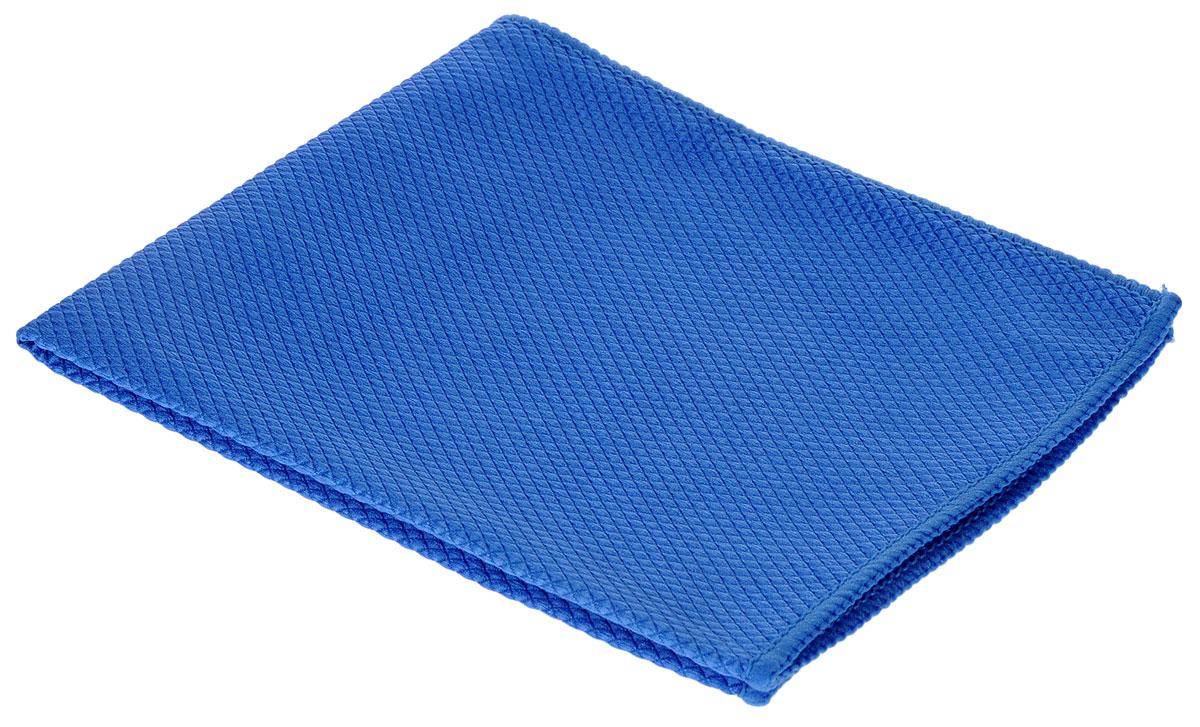Салфетка чистящая для удаления сильных загрязнений Sapfire, цвет: синий, 35 см х 40 см3023-SFMПрекрасное средство Sapfire предназначено для бережной очистки от сильных загрязнений. Великолепно удаляет пыль и грязь с любой поверхности. Клиновидные микроскопические волокна захватывают и легко удерживают частички пыли, жировой и никотиновый налет, микроорганизмы, в том числе болезнетворные и вызывающие аллергию. Материал салфетки (микрофибра) обладает уникальной способностью быстро впитывать большой объем жидкости (в 8 раз больше собственной массы). Салфетка великолепно моет и сушит. Протертая поверхность становится идеально чистой, сухой, блестящей, без разводов и ворсинок.