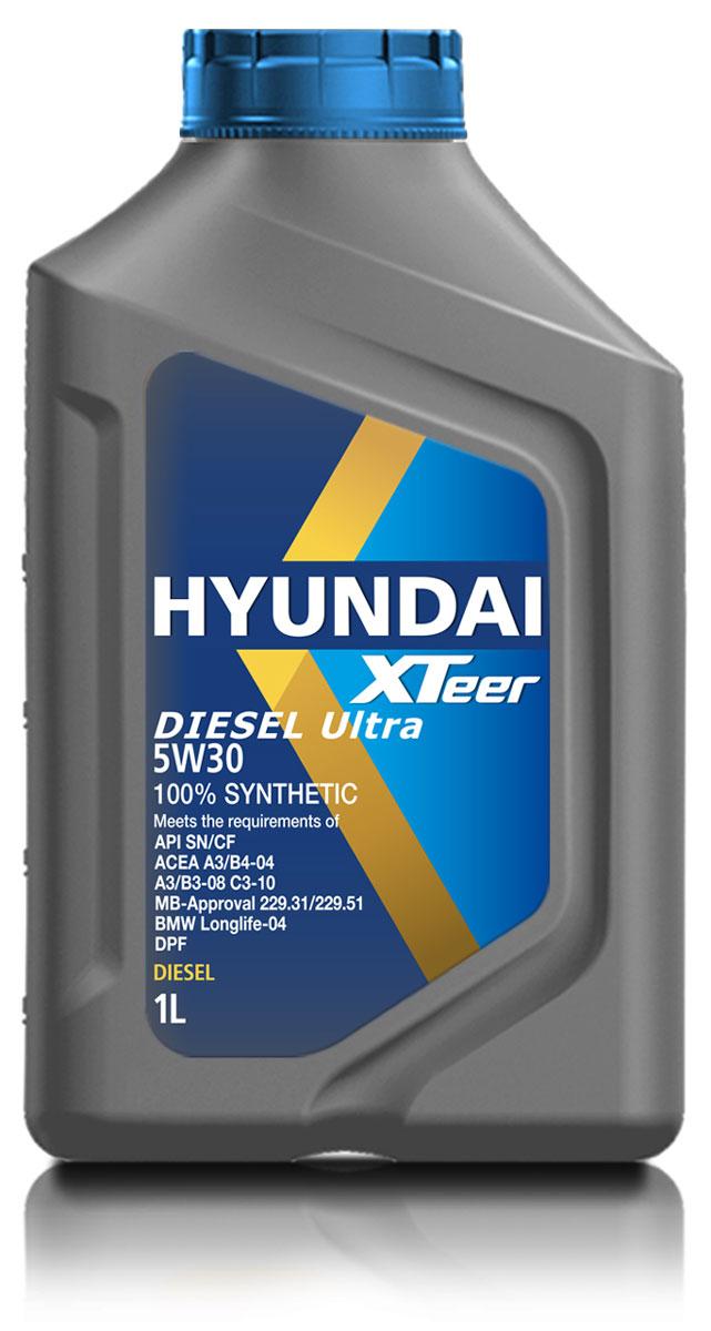 Масло моторное Hyundai Xteer Diesel Ultra, синтетическое, 5W-30, 1 л1011003100% синтетическое моторное масло премиум-класса для дизельных двигателей кемперов и внедорожников XTeer Diesel Ultra передовое интетическое моторное масло для дизельных двигателей, предназначенное как для защиты деталей современного двигателя, так и для защиты окружающей среды. XTeer Diesel Ultra соответствует требованиям современной градации новейших моторных масел API CF/SN, ACEA C3, A3/B3/B4. XTeer Diesel Ultra является 100% синтетическим маслом для дизельных двигателей, разработанное с применением передовых технологий.