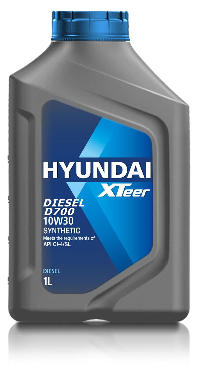 Масло моторное Hyundai Xteer Diesel, синтетическое, 10W-30, 1 л1011014XTeer Diesel 10W30 передовое синтетическое масло для дизельных двигателей, разработанное для автомобилей самых последних технологий. XTeer Diesel 10W30 соответствует требованиям современной градации новейших моторных масел API CI-4 / SL. XTeer Diesel 10W30 обладает отличными смазывающими характеристиками даже в самых тяжелых условиях.