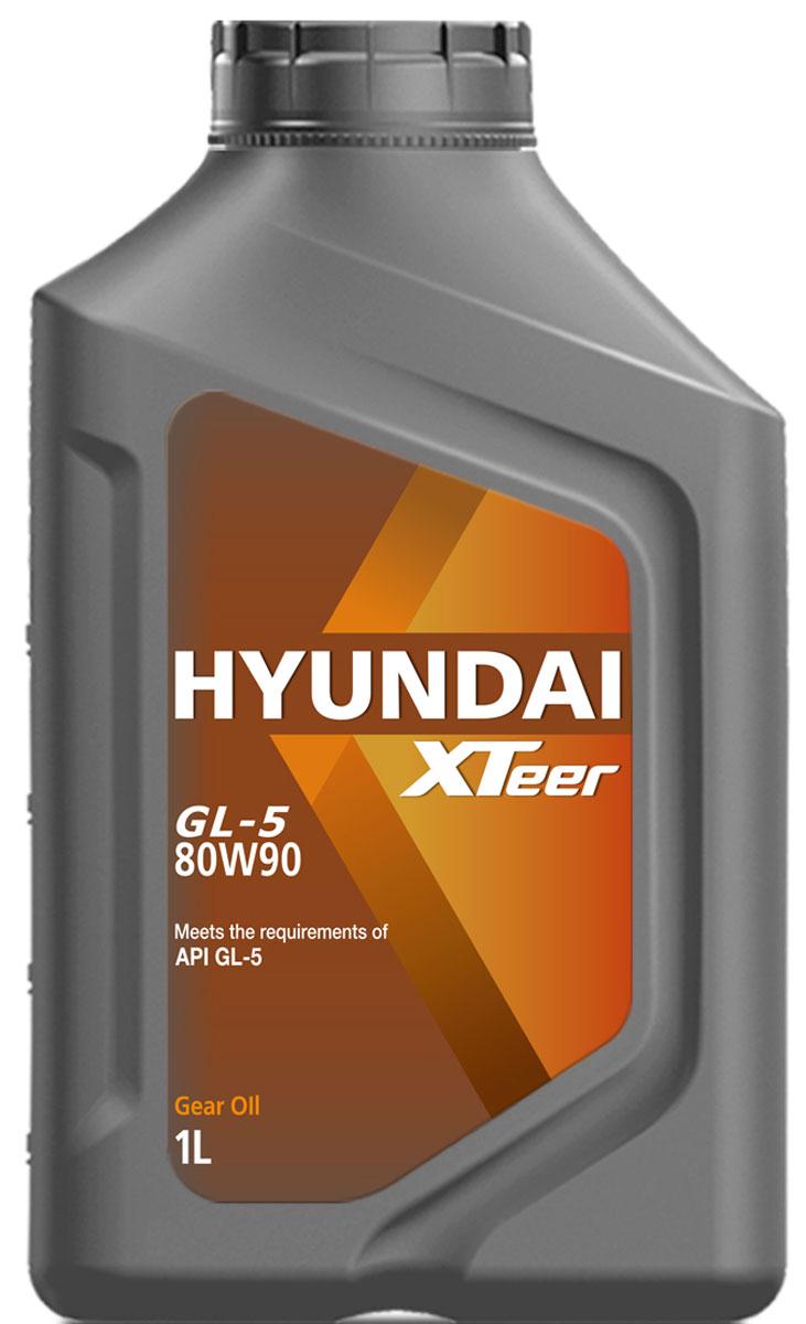 Масло трансмиссионное Hyundai Xteer Gear Oil-5, 80W-90, 1 л1011017XTeer Gear Oil-5 передовая синтетическая трансмиссионная жидкость для механических коробок передач, разработанная для представительских автомобилей самых последних технологий. XTeer Gear Oil-5 обеспечивает превосходную защиту от понижения уровня вязкости. Особенно рекомендована, когда водитель указывает трансмиссионное масло Gear Oil-5 с допуском вязкости SAE80W90.