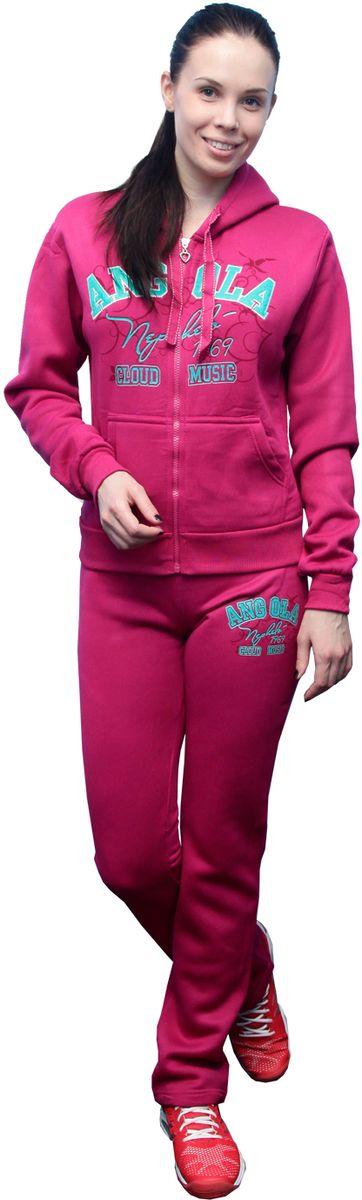 "Костюм спортивный женский ""Proffi Sport"", цвет: темно-розовый. PH7760. Размер S (42) PH7760darkpinkS"