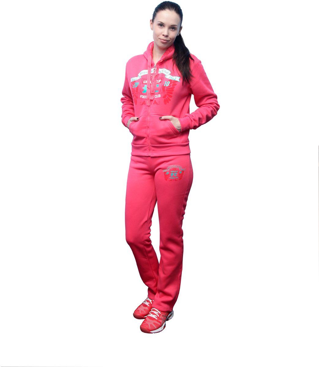 "Костюм спортивный женский ""Proffi Sport"", цвет: розовый. PH7760. Размер M (44) PH7760pinkM"