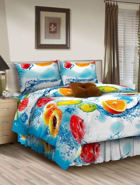 Комплект белья ROKO, 2-спальный, наволочки 70х70, цвет: голубой, белый115898Комплект белья ROKO состоит из простыни, пододеяльника и 2 наволочек. Для производства постельного белья используются экологичные ткани высочайшего качества. Бязь - хлопчатобумажная плотная ткань полотняного переплетения. Отличается прочностью и стойкостью к многочисленным стиркам. Бязь считается одной из наиболее подходящих тканей, для производства постельного белья и пользуется в России большим спросом.