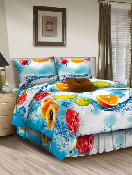 Комплект белья ROKO, семейный, наволочки 70х70, цвет: голубой, белый115918Комплект белья ROKO состоит из простыни, 2 пододеяльников и 2 наволочек. Для производства постельного белья используются экологичные ткани высочайшего качества. Бязь - хлопчатобумажная плотная ткань полотняного переплетения. Отличается прочностью и стойкостью к многочисленным стиркам. Бязь считается одной из наиболее подходящих тканей, для производства постельного белья и пользуется в России большим спросом.