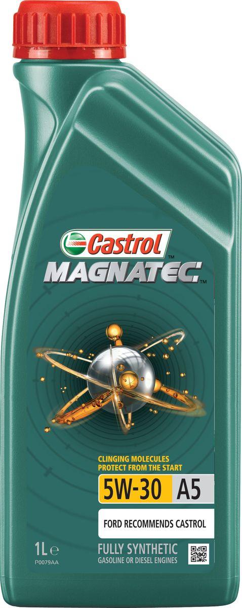 Моторное масло Castrol Magnatec 5W-30 A5, 1 л15581EОписание До 75% износа двигателя происходит во время его пуска и прогрева. Когда двигатель выключен, обычное масло стекает в поддон картера, оставляя важнейшие детали двигателя незащищенными. Молекулы Castrol Magnatec подобно магниту притягиваются к деталям двигателя и образуют сверхпрочную масляную пленку, обеспечивающую дополнительную защиту двигателя в период пуска, когда риск возникновения износа существенно возрастает. Применение Моторное масло Castrol Magnatec 5W-30 A5 предназначено для бензиновых и дизельных двигателей автомобилей, в которых производитель рекомендует использовать смазочные материалы класса вязкости SAE 5W-30, спецификаций ACEA A5/B5, A1/B1, API SN/CF ILSAC GF-4 или более ранних. Castrol Magnatec 5W-30 A5 подходит для применения в двигателях автомобилей Ford, требующих моторные масла спецификаций Ford WSS-M2C913-D, Ford WSS-M2C913-C, Ford WSS-M2C913-B или Ford WSS-M2C913-A. Преимущества Молекулы Castrol Magnatec Intelligent Molecules: ·удерживаются на важнейших...