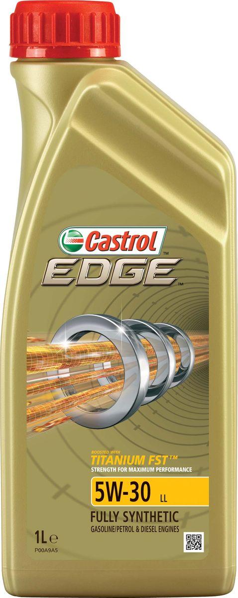 Моторное масло Castrol Edge5W-30 LL, 1 л15667CОписание Полностью синтетическое моторное масло Castrol EDGE произведено с использованием новейшей технологии TITANIUM FST™, придающей масляной пленке дополнительную силу и прочность благодаря соединениям титана. TITANIUM FST™ радикально меняет поведение масла в условиях экстремальных нагрузок, формируя дополнительный ударопоглащающий слой. Испытания подтвердили, что TITANIUM FST™ в 2 раза увеличивает прочность пленки, предотвращая ее разрыв и снижая трение для максимальной производительности двигателя. С Castrol EDGE Ваш автомобиль готов к любым испытаниям независимо от дорожных условий. Применение Castrol EDGE 5W-30 LL предназначено для бензиновых и дизельных двигателей автомобилей, где производитель рекомендует моторные масла, соответствующие классификации ACEA С3 и классу вязкости SAE 5W-30. Castrol EDGE 5W-30 LL одобрено к применению в технике, требующей смазочные материалы спецификаций VW 504 00 / 507 00, Porsche C30 или MB-Approval 229.31/229.51 класса вязкости SAE 5W-30....