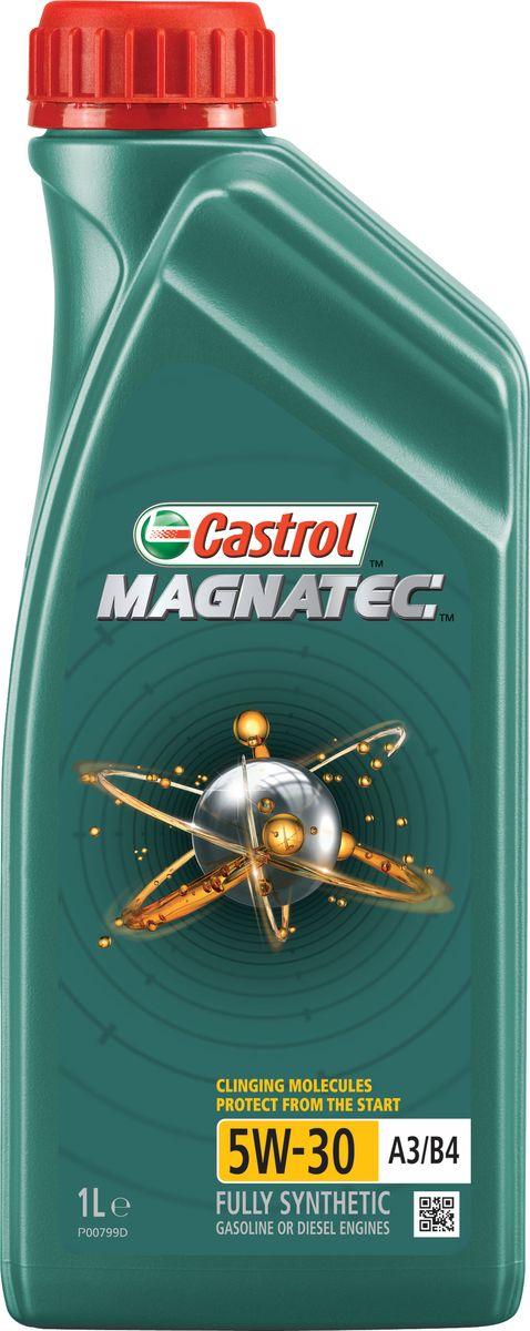 Моторное масло Castrol Magnatec 5W-30 A3/B4, 1 л156ED4Описание До 75% износа двигателя происходит во время его пуска и прогрева. Когда двигатель выключен, обычное масло стекает в поддон картера, оставляя важнейшие детали двигателя незащищенными. Молекулы Castrol Magnatec подобно магниту притягиваются к деталям двигателя и образуют сверхпрочную масляную пленку, обеспечивающую дополнительную защиту двигателя в период пуска, когда риск возникновения износа существенно возрастает. Применение Моторное масло Castrol Magnatec 5W-30 A3/B4 подходит для применения в бензиновых двигателях, в которых производитель рекомендует использовать смазочные материалы, соответствующие классу вязкости SAE 5W-30 и спецификациям API SL/CF, ACEA A3/B3 или A3/B4. Castrol Magnatec 5W-30 A3/B4 одобрено к использованию большинством автопроизводителей (см. раздел «Спецификации» в руководстве по эксплуатации автомобиля). Преимущества Молекулы Castrol Magnatec Intelligent Molecules: - в сочетании с синтетической технологией обеспечивают повышенную защиту при высоко- и...