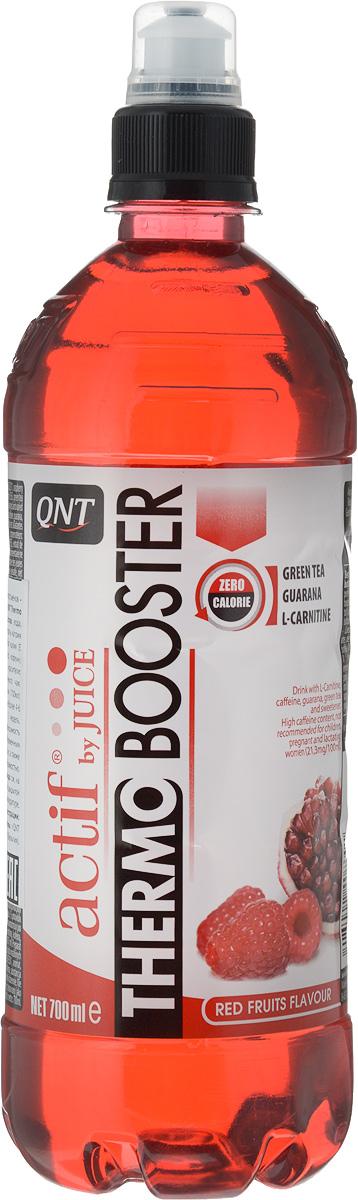 QNT Термо Бустер, Красные фрукты, 700 млQNT1057Высокое содержание казеината кальция, легкая для смешивания текстура, позволяет получить молочный коктейль приятной консистенции. В каждой порции 32 гр протеина и комплекс витаминов группы B. Предназначен для поддержания мышечной массы включая все спортивные дисциплины.