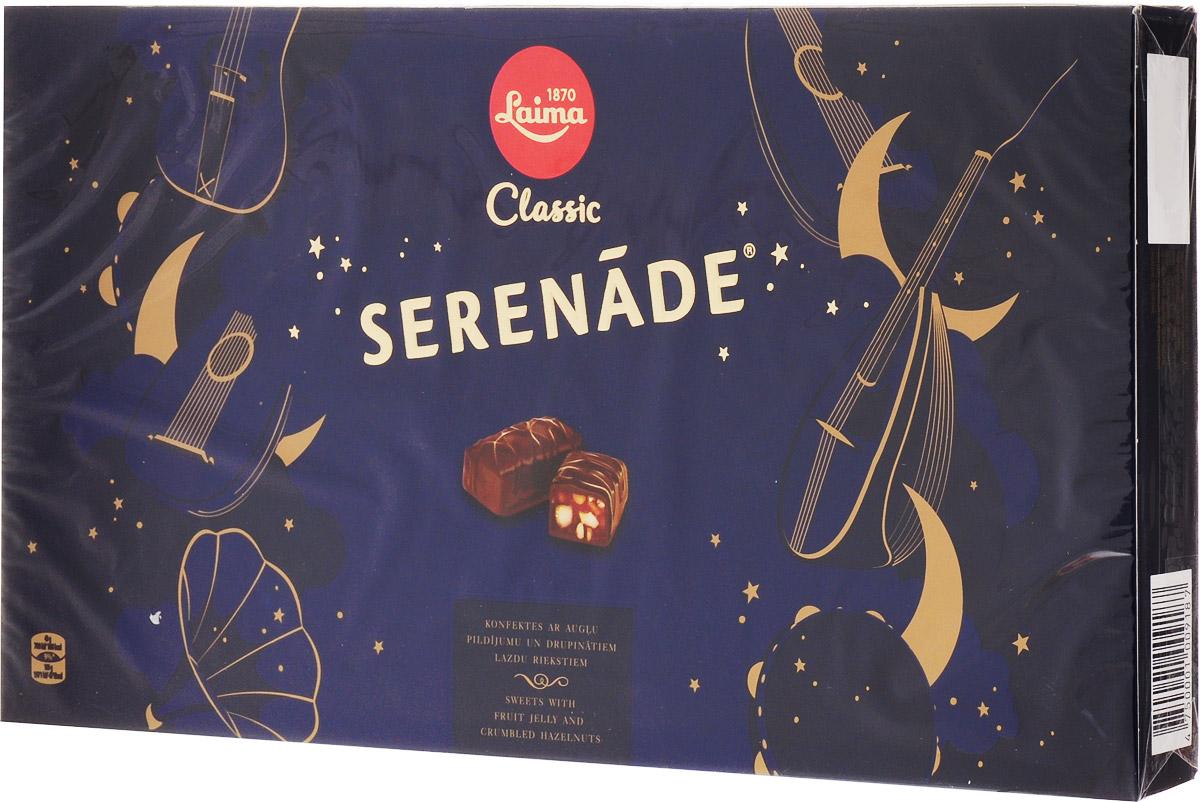 Laima Серенада Набор шоколадных конфет, 235 гP11090921Визитная карточка ТМ Лайма_мягкий грильяж в шоколаде. Уважаемые клиенты! Обращаем ваше внимание на то, что упаковка может иметь несколько видов дизайна. Поставка осуществляется в зависимости от наличия на складе.