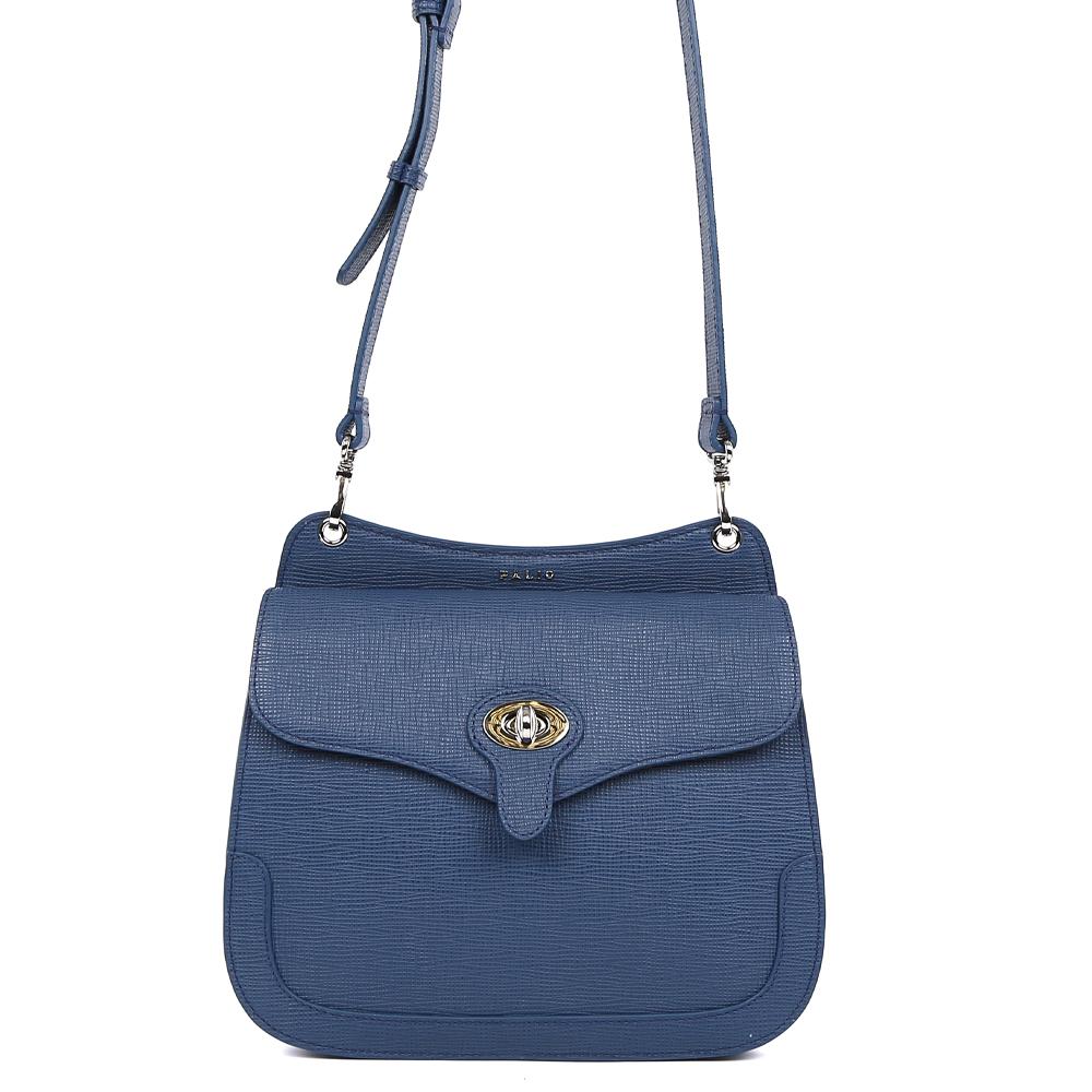 Сумка женская Palio, цвет: синий. 15090A-W1-818/81715090A-W1-818/817 blueСтильная женская сумка кросс-боди Palio выполнена из натуральной плотной кожи , которая держит форму и имеет приятную на ощупь фактуру. Элегантный темно-синий цвет, стильная форма и ультрамодное тиснение на коже помогут дополнить и завершить любой утонченный образ. Изысканное крепление ручек и фурнитура в серебряном оттенке подчеркнет не только ваш великолепный вкус, но и внесет нотки элегантного итальянского шика в ваш гардероб. Кросс-боди имеет одно вместительное отделение, которое закрывается на удобный замок. Внутри сумки вы с легкостью сможете расположить свой сотовый телефон и другие женские мелочи с помощью удобного кармана. На тыльной части модели расположен отдел на молнии с кожаным поводком. Сумка компактна и не вмещает формат А4, длина плечевого ремня регулируется.